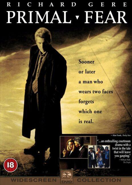 فیلم دوبله: ترس کهن / وحشت زده (1996) Primal Fear