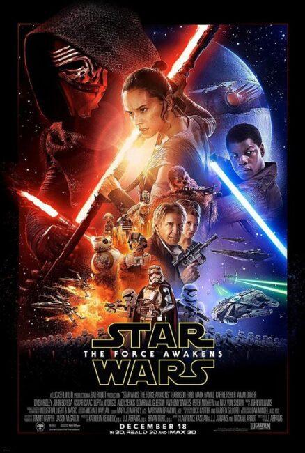 فیلم دوبله: جنگ ستارگان 7- نیرو برمیخیزد (2015) Star Wars: The Force Awakens