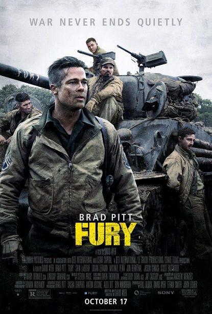 فیلم دوبله : خشم (2014) Fury
