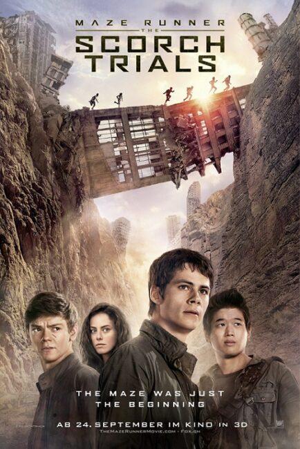 فیلم دوبله: دونده مارپیچ: آزمایش های سرزمین سوخته (2015) Maze Runner: The Scorch Trials