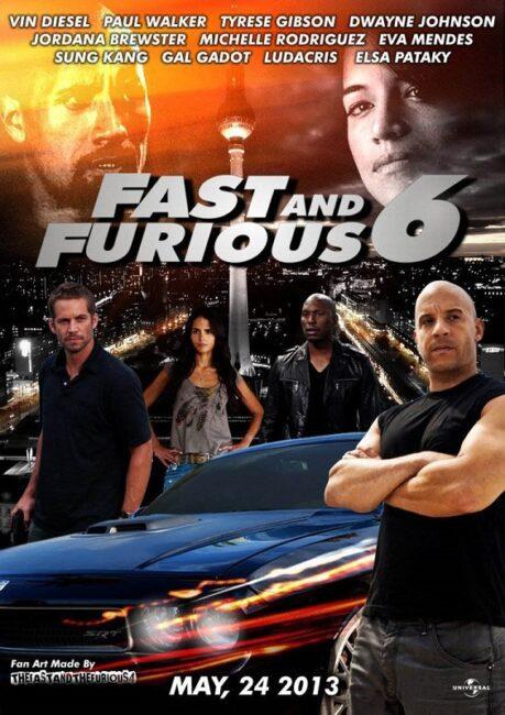 فیلم دوبله: سریع و خشمگین 6 (2013) Fast and  Furious 6