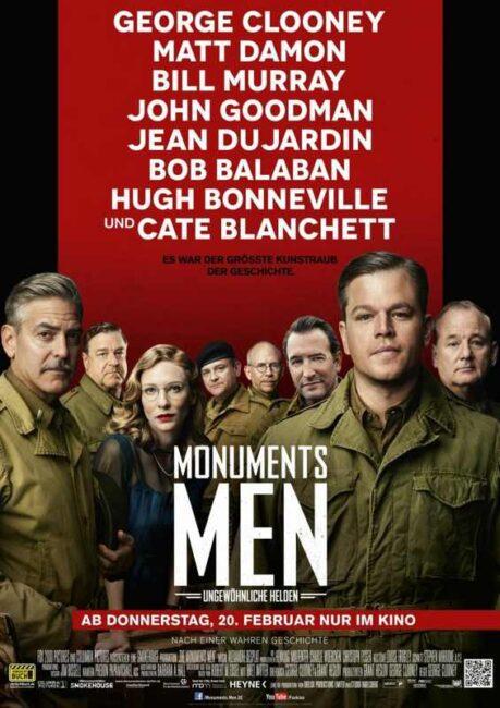 فیلم دوبله: مردان آثار تاریخی (2014) The Monuments Men