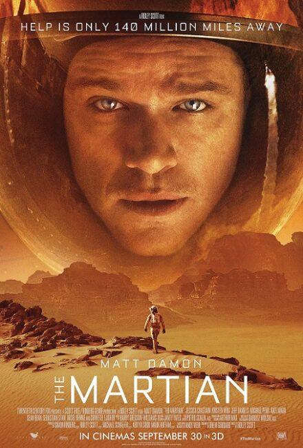 فیلم دوبله: مریخی (2015) The Martian