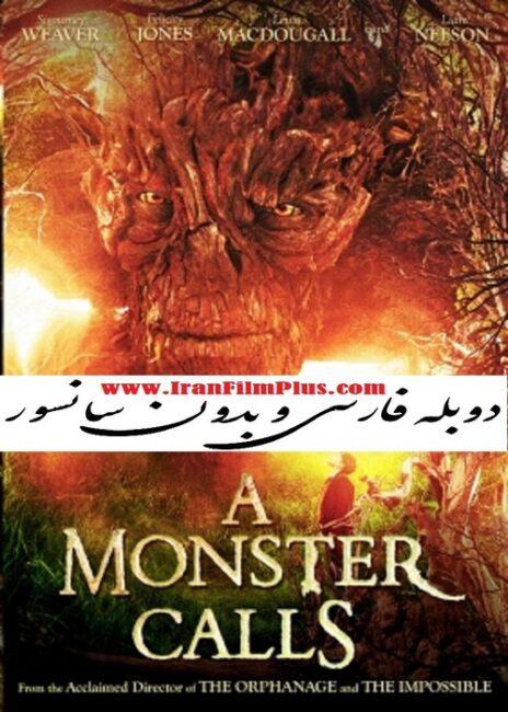 فیلم دوبله: هیولایی فرا می خواند (2016) A Monster Calls