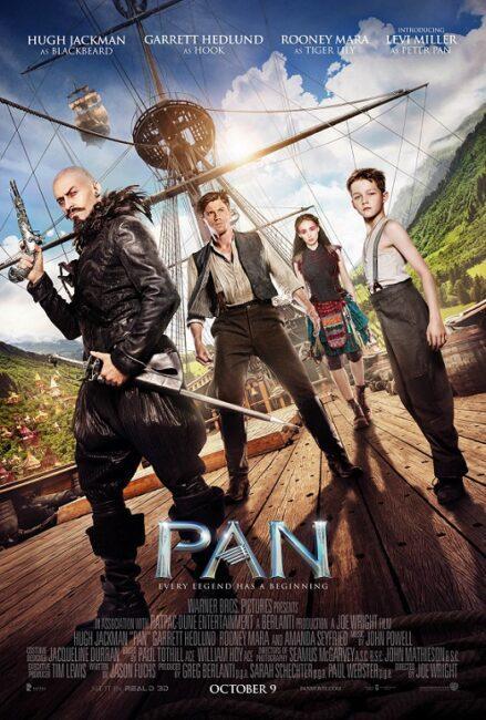 فیلم دوبله: پن (2015) Pan