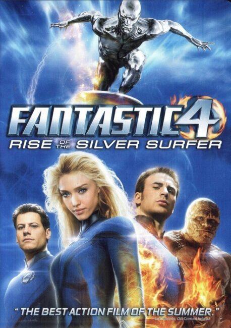 فیلم  دوبله : چهار شگفت انگیز - قیام موج سوار نقره ای Fantastic Four: Rise of the Silver Surfer 2007