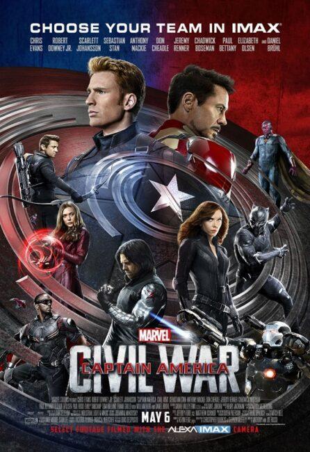 فیلم دوبله: کاپیتان آمریکا: جنگ داخلی (2016) Captain America: Civil War