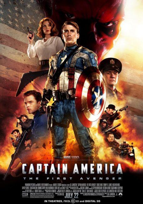 فیلم دوبله: کاپیتان آمریکا: نخستین انتقامجو (2011) Captain America: The First Avenger